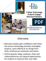 5 Ways Technology Projects Engage Reluctant Readers