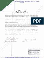 CDCA ECF 593-3 20130-4-02 - Liberi v Taitz - DOLZ Affidavit to Response to OSC