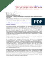 Barrick Gold - Informe FOCO