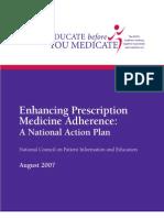 Enhancing Prescription Medicine Adherence