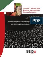 Matematica Enfoques Creativos Para Aprender Matematicas y Ciencias Naturales