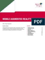 Mobile Augmented Reality V1