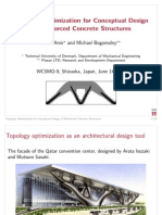 Topology Optimization for Conceptual Design of Reinforced Concrete Structures