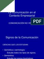 La Comunicacion No Verbal.ppt