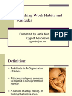 Teaching Work Habits and Attitudes Webinar