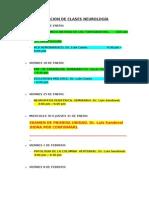RELACION DE CLASES NEUROLOGÍA (1)