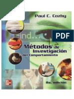 Metodos de Investigacion Del Comportamiento