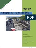 Informe de Drenaje de Carreteras