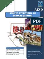Analisis Estrategico de Famosas Batallas