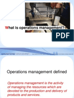 24593900 Chapter 1 What is Operations Management