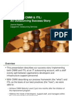 integrating cmmi & itil an outsourcing success story