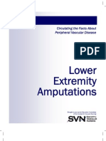 Lower Extremity Amputatios