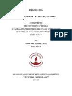 Capital Market in Bric Economies