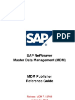 MDM Publisher  in Depth