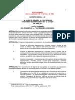 Ley Sobre El Regimen de Propiedad en Condominio de Inmuebles