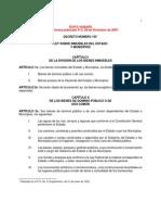 Ley Sobre Inmuebles Del Estado y Municipios