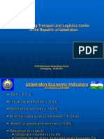 Developing Transport and Logistics Centerin the Republic of Uzbekistan