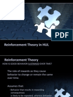 reinforcement theory oh HUL