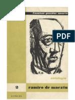 Antología - Ramiro de Maeztu