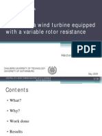 Presentacion Control of a Wind Turbine