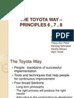 Toyata Way