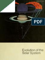 Hannes Alfvén-Evolution of the solar system
