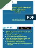the universal legal framework against terrorism