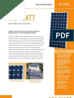 175watt Solar Panel