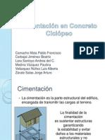 63551836 Cimentacion en Concreto Ciclopeo