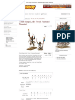 Tomb Kings Liche Priest, Foot and Mounted