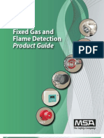 MSA Product Guide Fixed Gas Detection