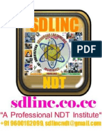 SDLINC NDT QA QC NACE PAINTING NEBOSH SAFETY API AWS 