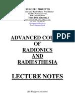 Advanced radionics