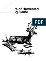 FIELD CARE FO HARVESTED BIG GAME