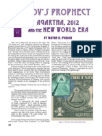 Agartha Deunovs Prophecy Article