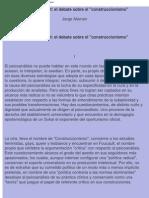 Alemán, J - Lacan, Foucault, el debate sobre el construccionismo.pdf