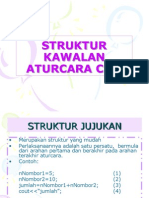 struktur kawalan aturcara c ++