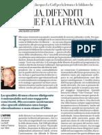 L'appello di Jacques Le Goff per la lettura e le biblioteche - La Repubblica 05.02.2013