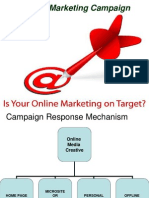 Internet Marketing Campaign SESSION 13