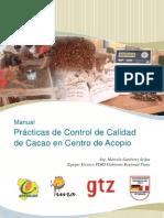 Pr Cticas de Control de Calidad de Cacao