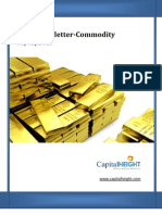 Daily Commodity Newsletter 05-02-2013