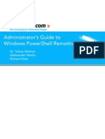 Administrators Guide to Windows PowerShell Remoting