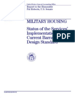 1999 Army Barracks Standard
