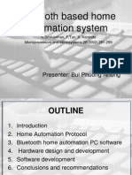 Blutooth Home Automation System