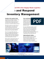 Sense and Respond Inventory Management