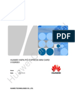 HUAWEI HSPA PCI Express Mini Card Datasheet V3_0(New)