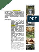 Edifices selectionnés aux alentours de Paris