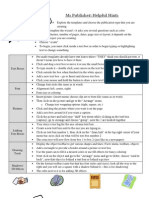 MS Publisher Excel Handout 08