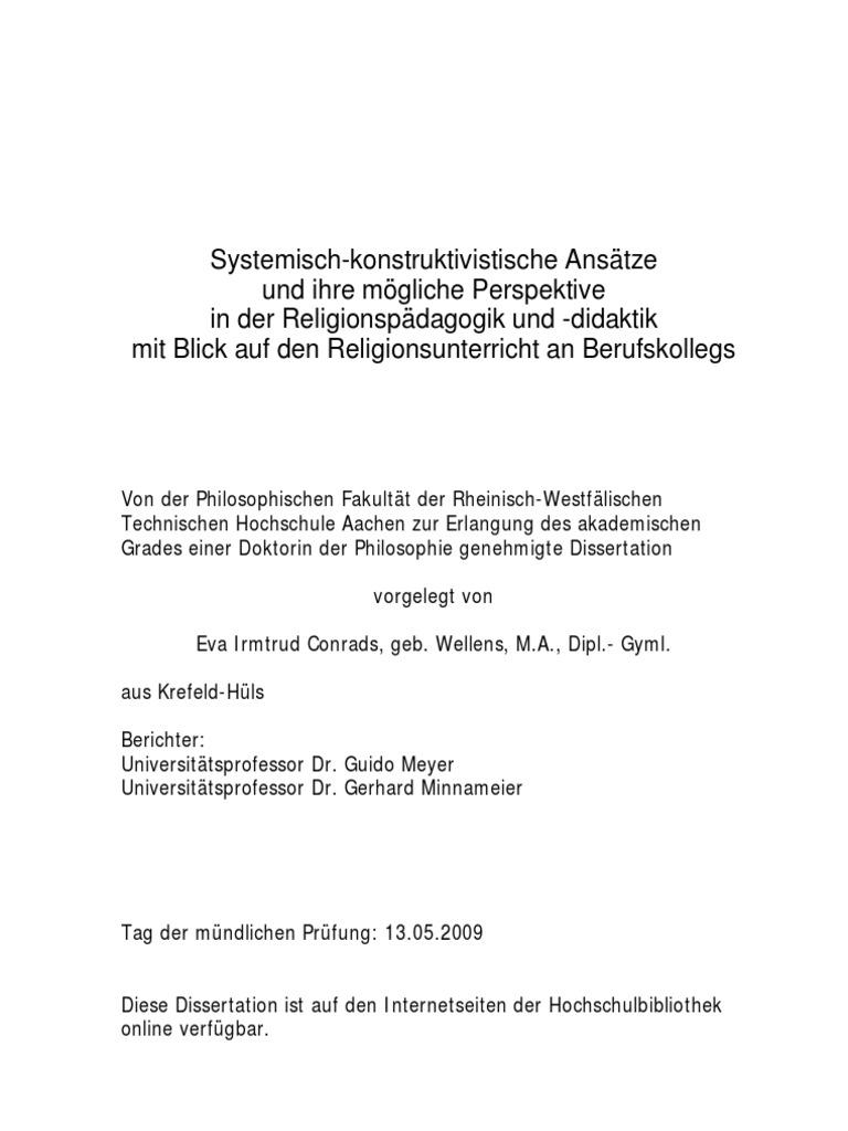 Conrads_Eva_Systemisch-konstruktivistische Ansätze und ihre mögliche ...