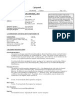 Matrial Safety Data Sheet